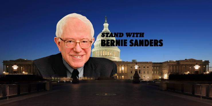 Stand with Bernie